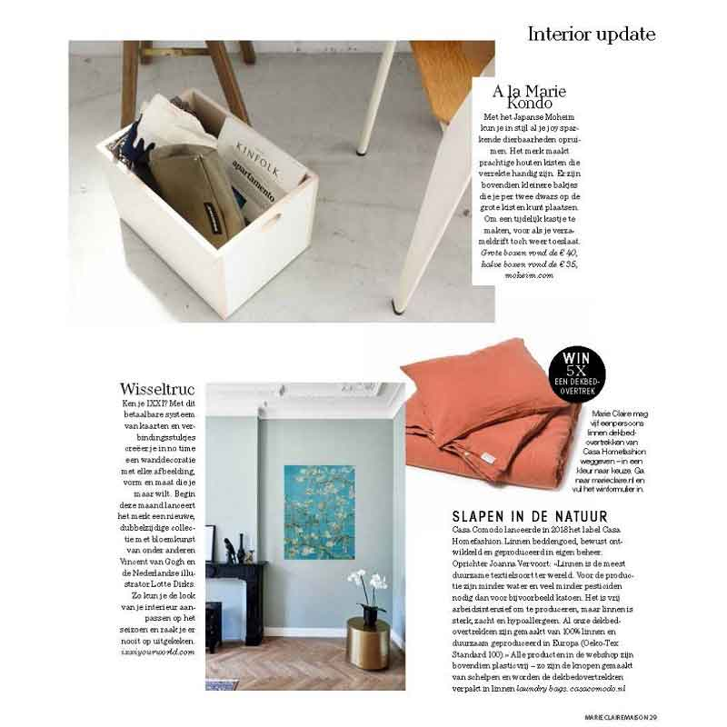 Winactie-marie-claire-maison - Casa Comodo