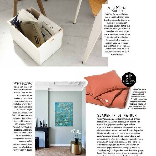 Casa Comodo in JAN Magazine