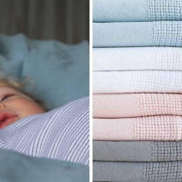 linnen baby beddengoed